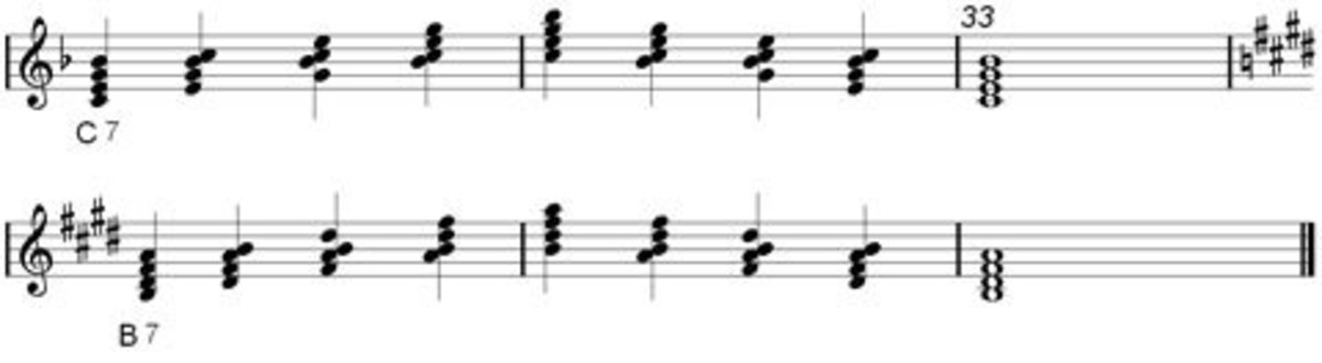 Dominant 7th Chord part 2