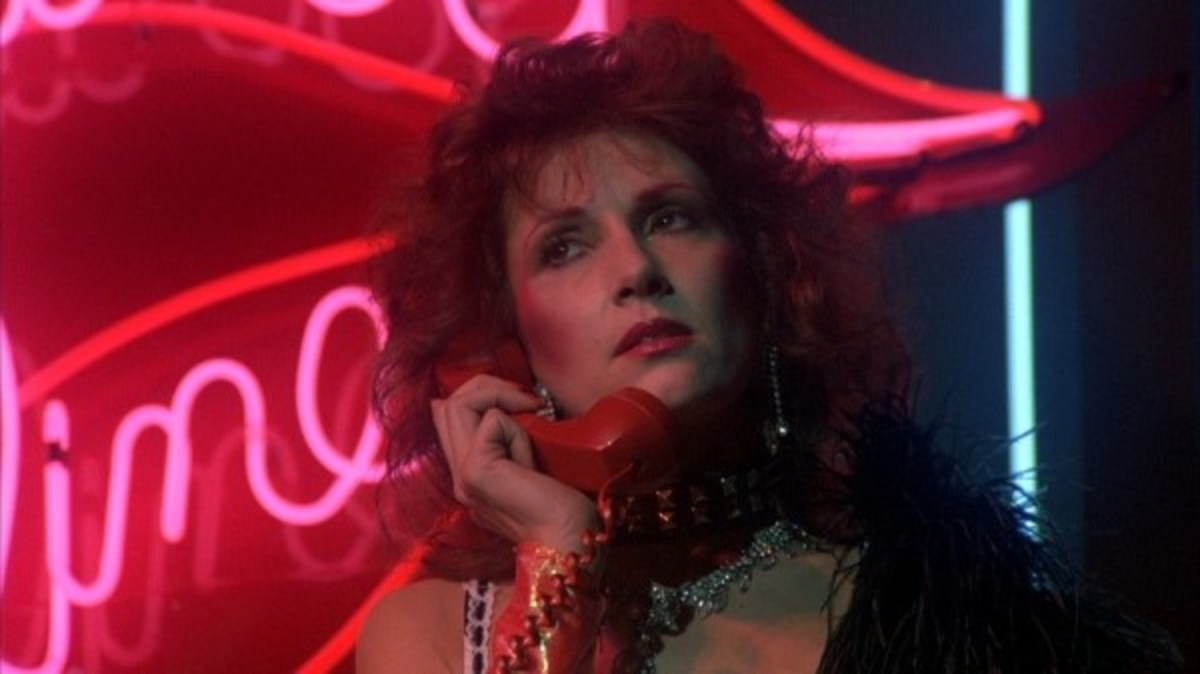 Blaze (Roz Kelly) gets a call from the killer only known as Evil