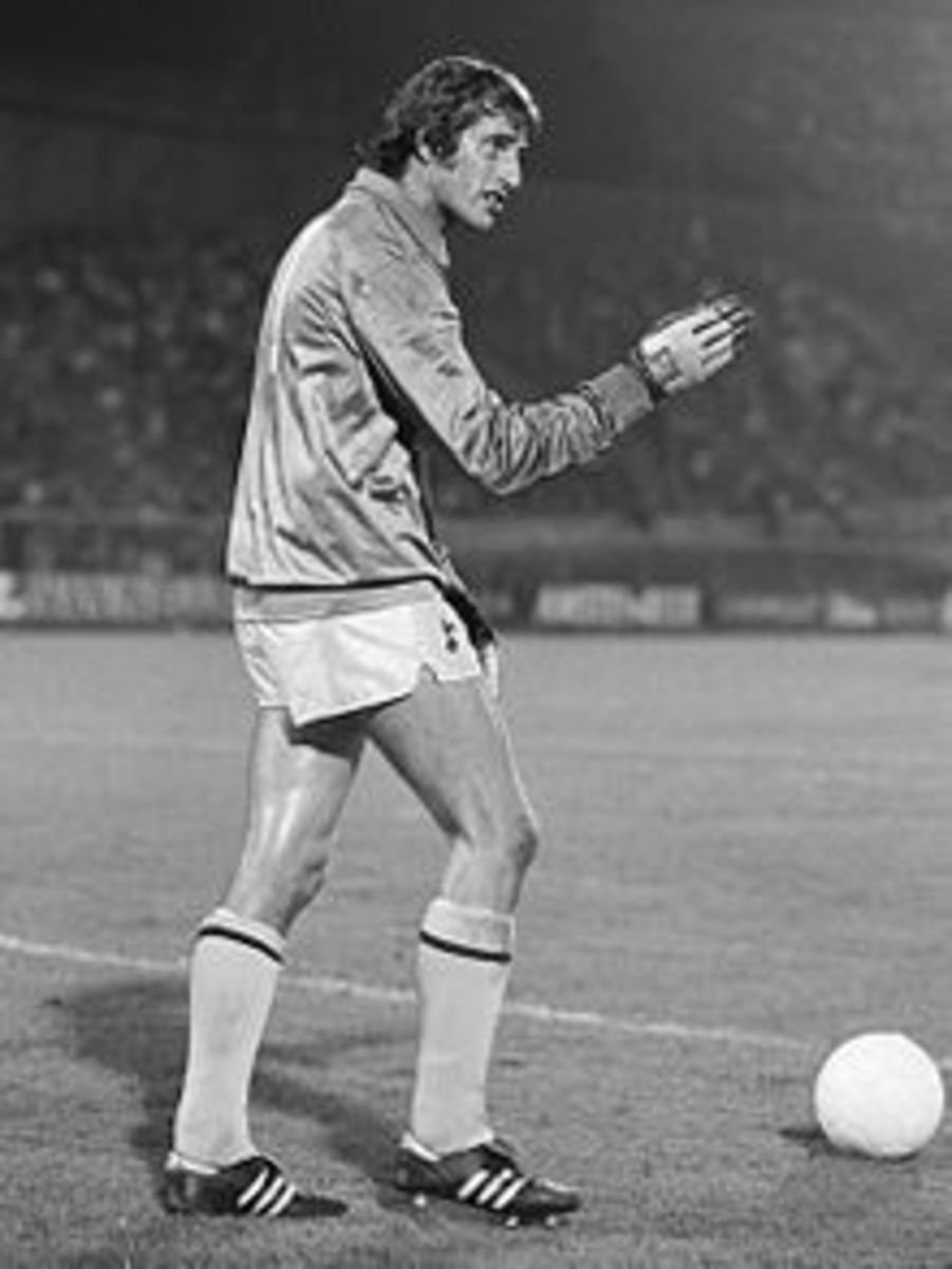 Ray Clemence in 1981