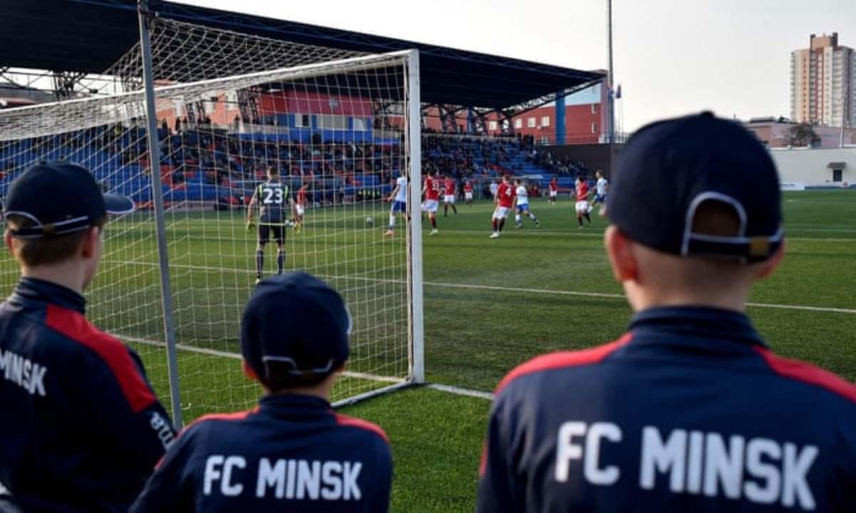 FC Minsk of Belarus during March - April 2020