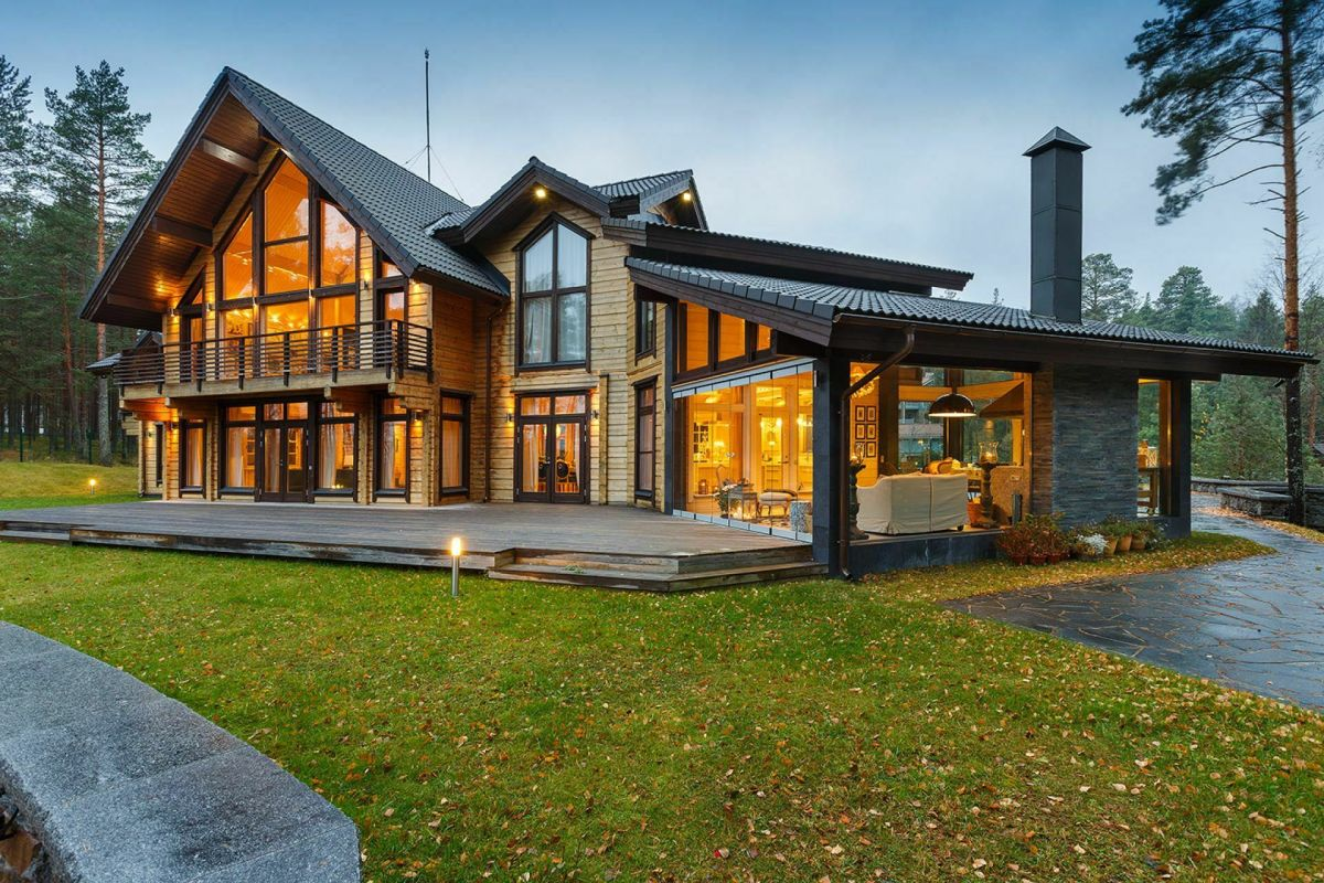 Finnish Houses: Advantages and Problems