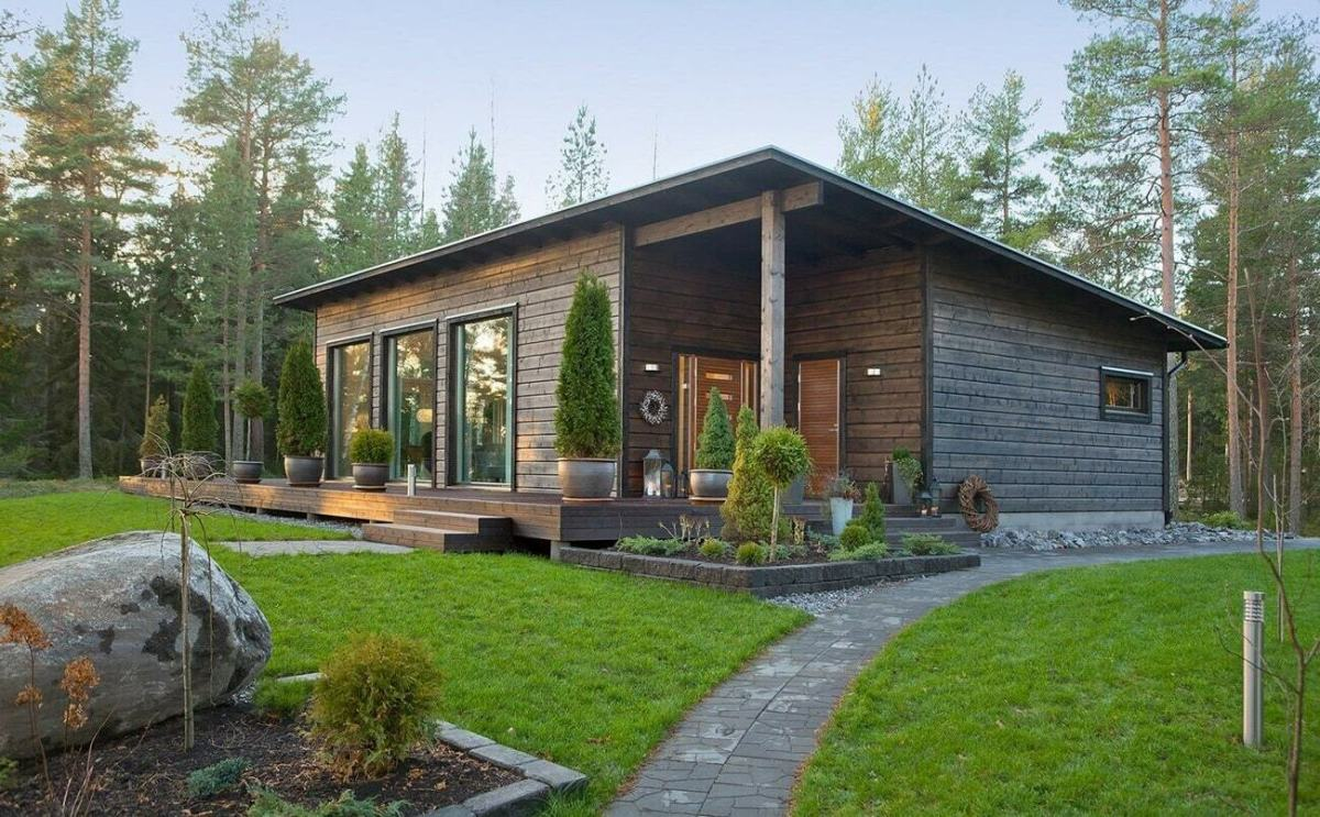 Finnish houses style