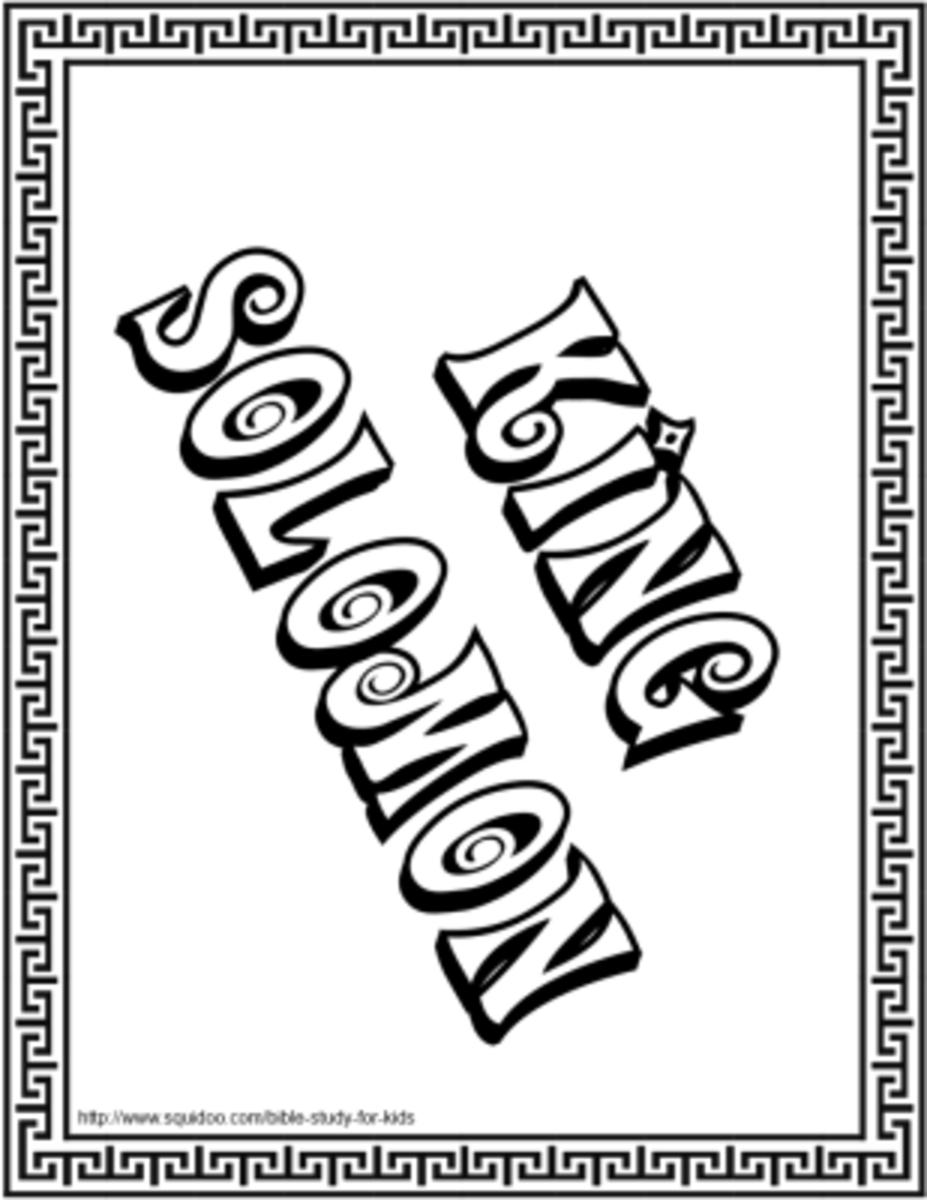 King Solomon Title Page