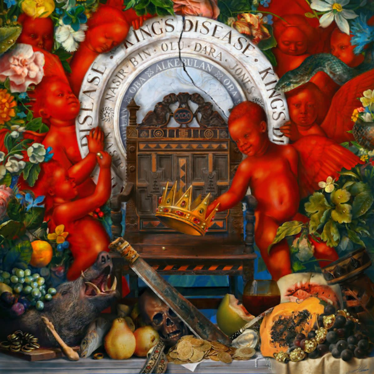 ''King's Disease'' album cover