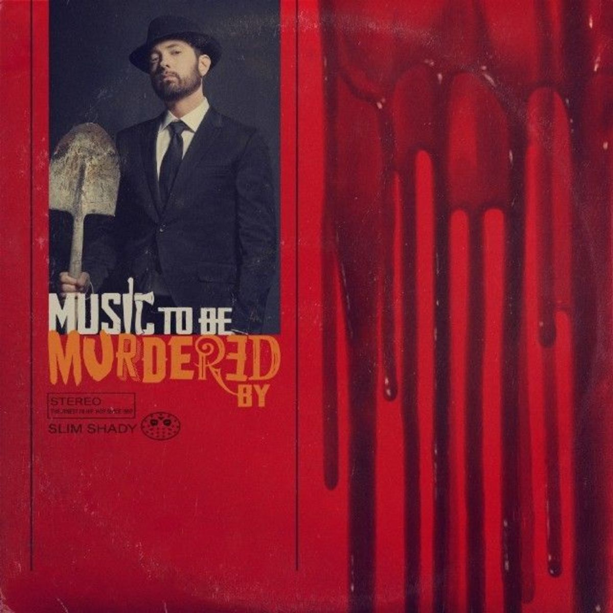 ''Music To Be Murdered By'' album cover