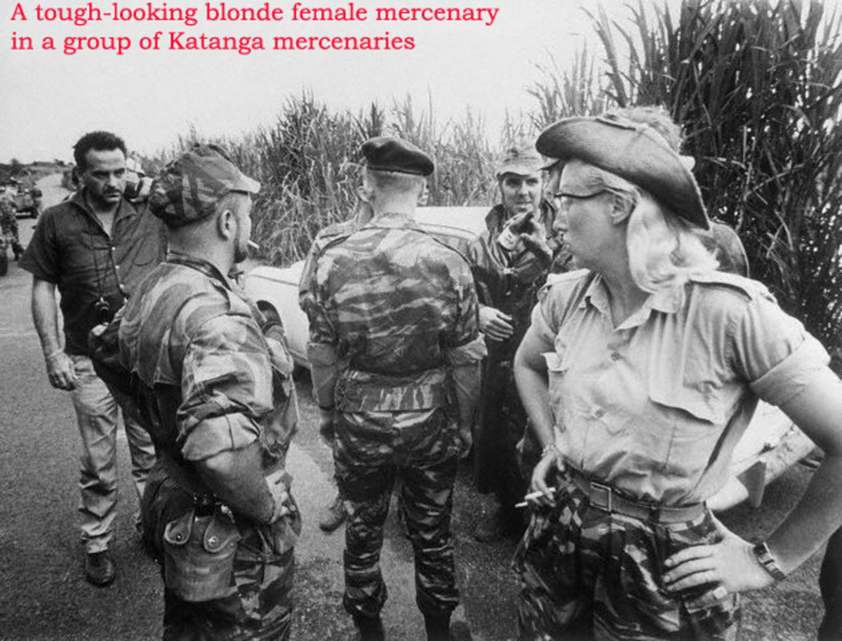 A FEMALE MERCENARY