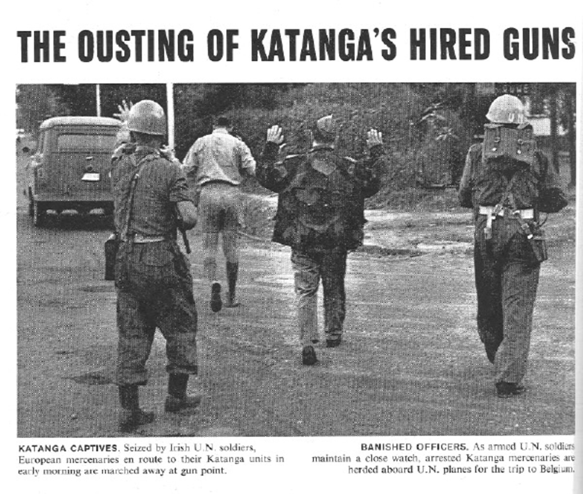 KATANGA CAPTIVES