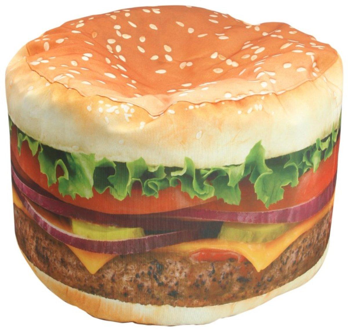 Hamburger Beanbag Chair