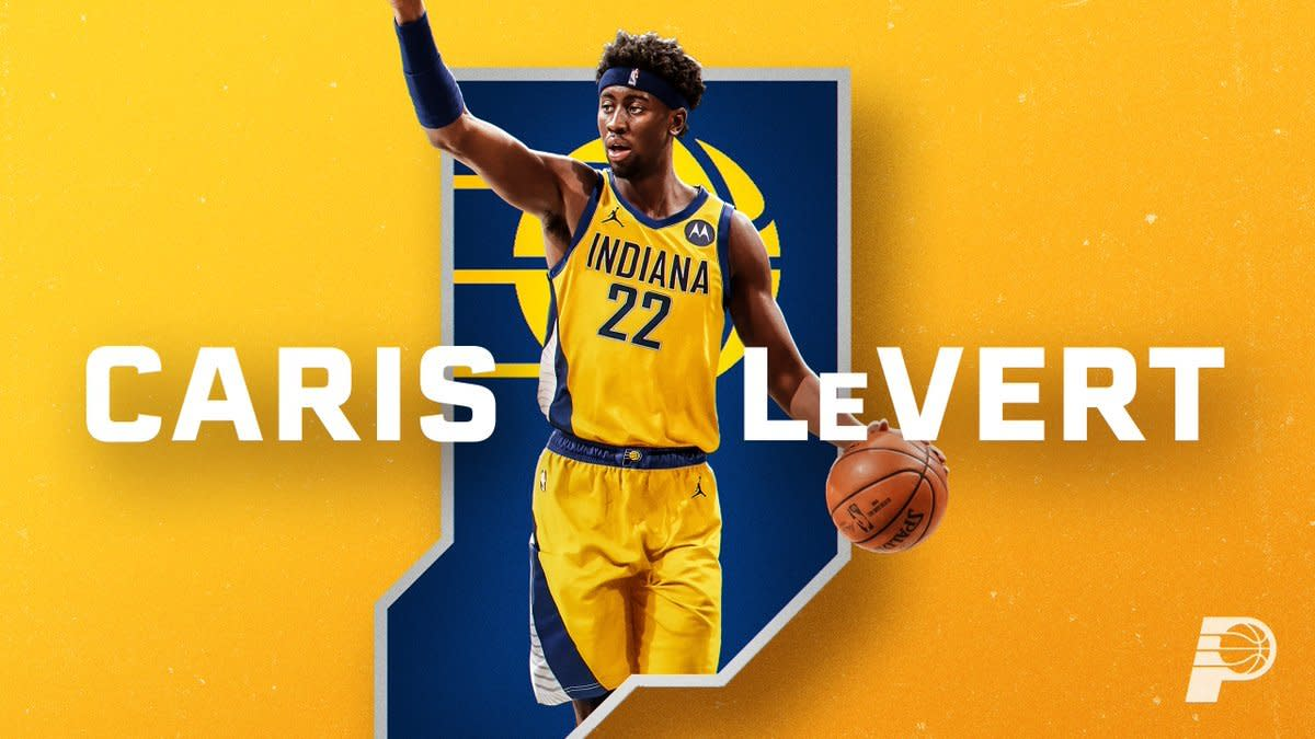 Caris LeVert gets sent to Indiana as a part of the James Harden four team deal.