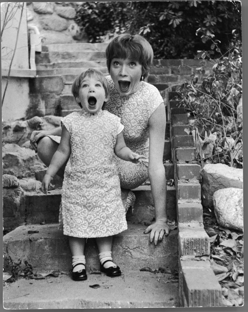 Sachi Parker, Shirley MacLaine
