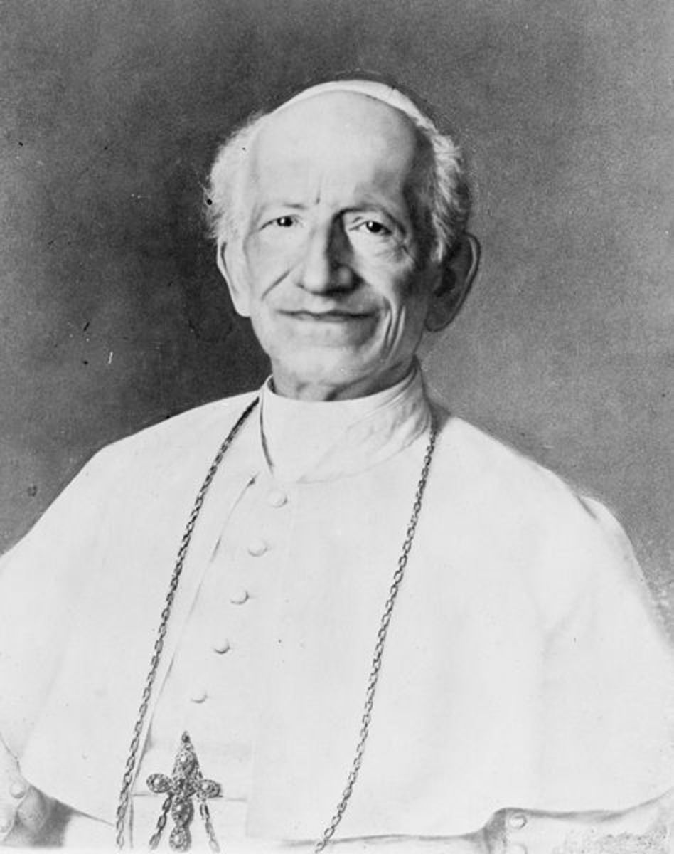 Although Leo XIII's defence of restraints on freedom of thought was abhorrent to Tyndall, the Pontiff was regarded as moderate and diplomatic in his day.