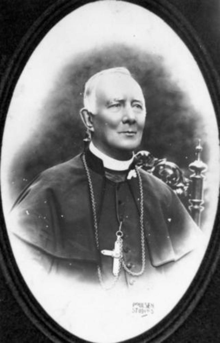 Tyndall would have known Moran, first Cardinal of Australia, briefly in Leighlinbridge when the latter was a young boy. Image courtesy Wikipedia commons.