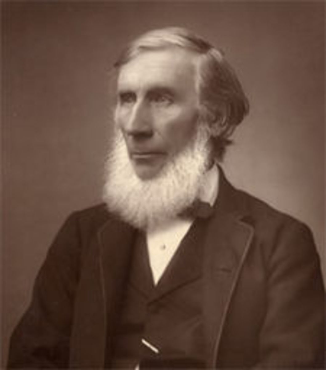 John Tyndall.  Photo courtesy Wikipedia Commons.