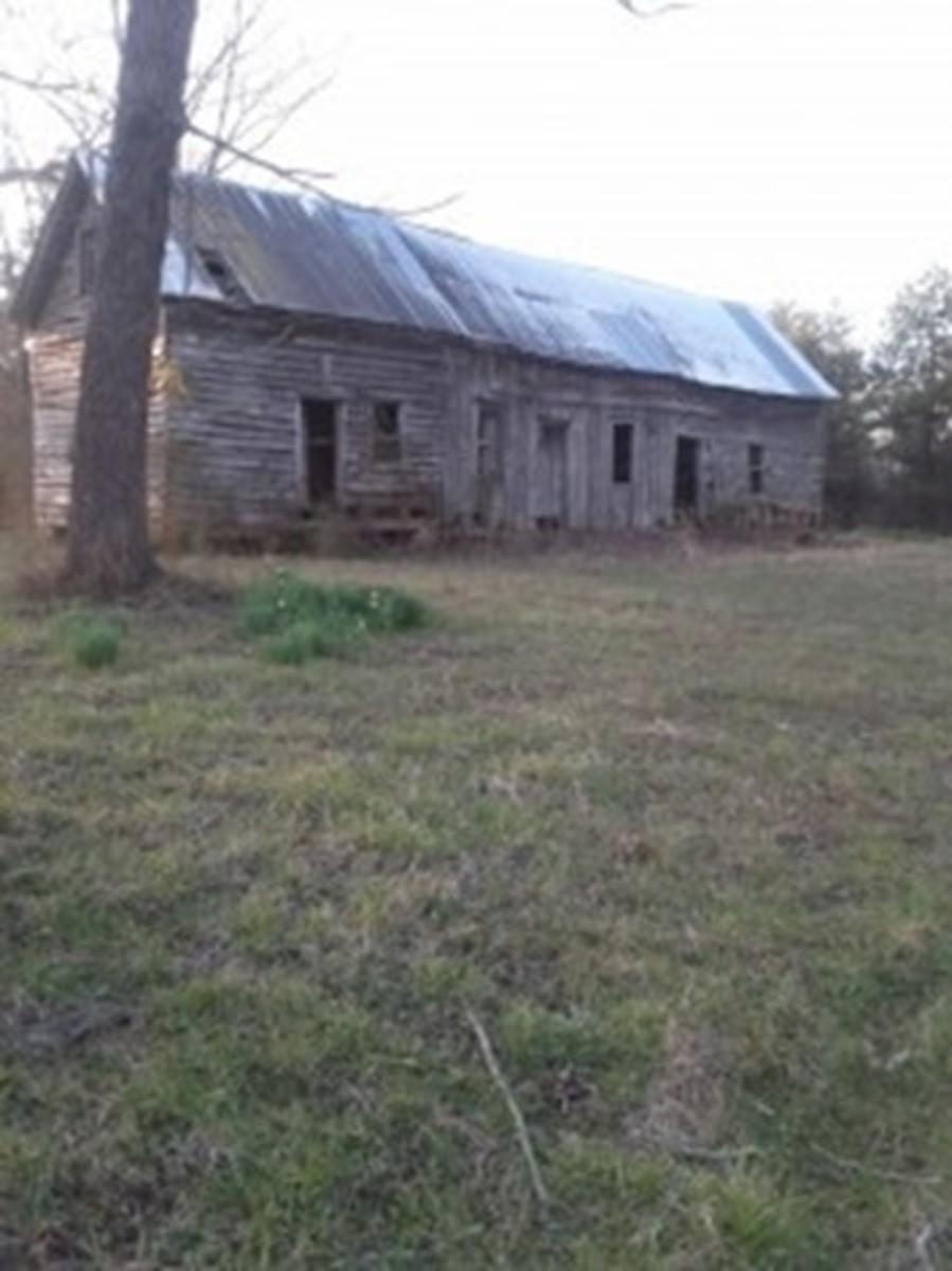Old Slave Cabin