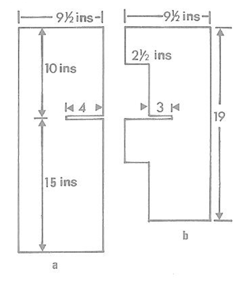 Figure 4a - Dollhouse Floor Partition and  Figure 4b - Dollhouse Upright Partition