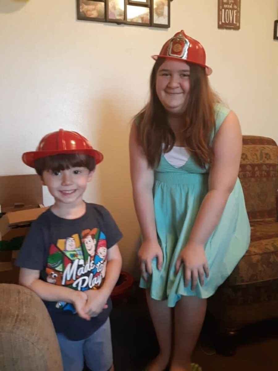 Caleb Dale and Olivia Starr.