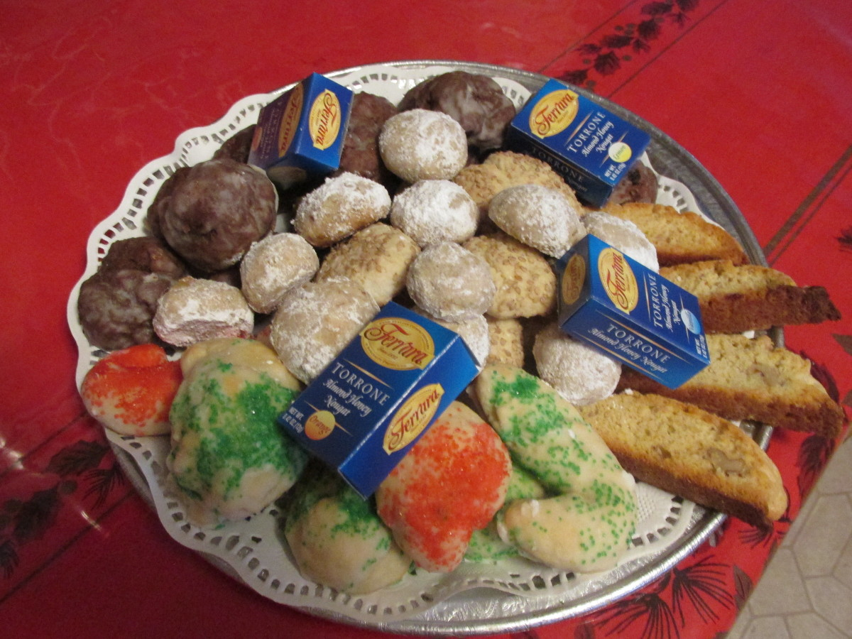 My Christmas cookies, recipes on other hubs.