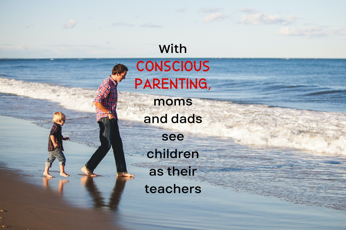 Conscious parenting represents a paradigm shift as adults open up to the radical notion that they should learn from their kids.