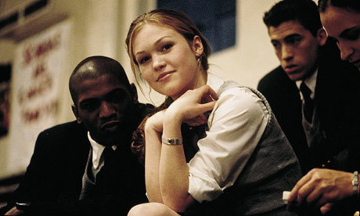Mekhi Phifer and Julia Stiles as the doomed lovers