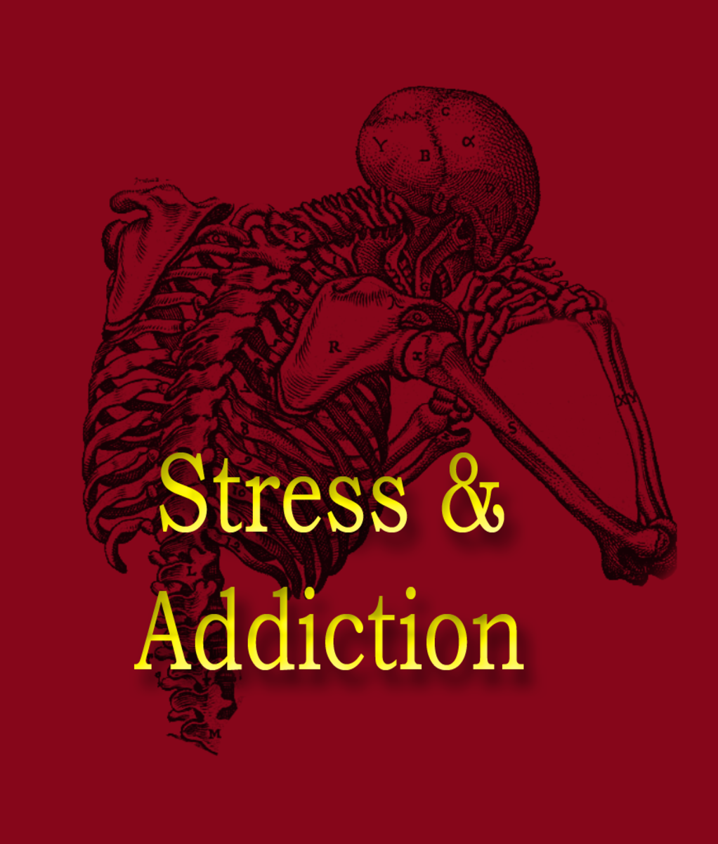 Anger and Addictions as a Result of Stress