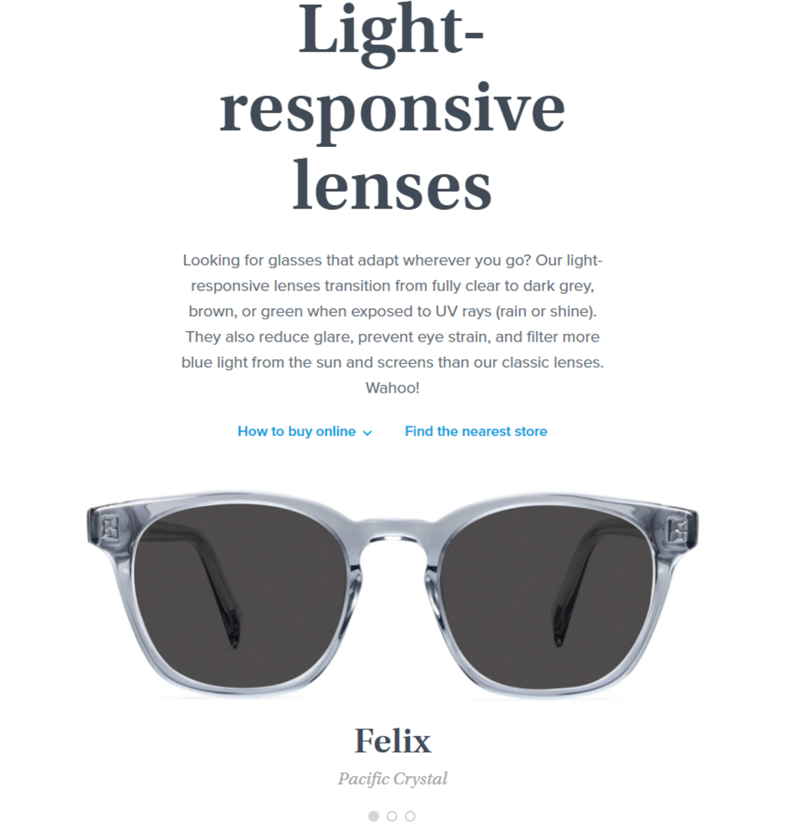 Warby Parker Light-Responsive Lenses Review