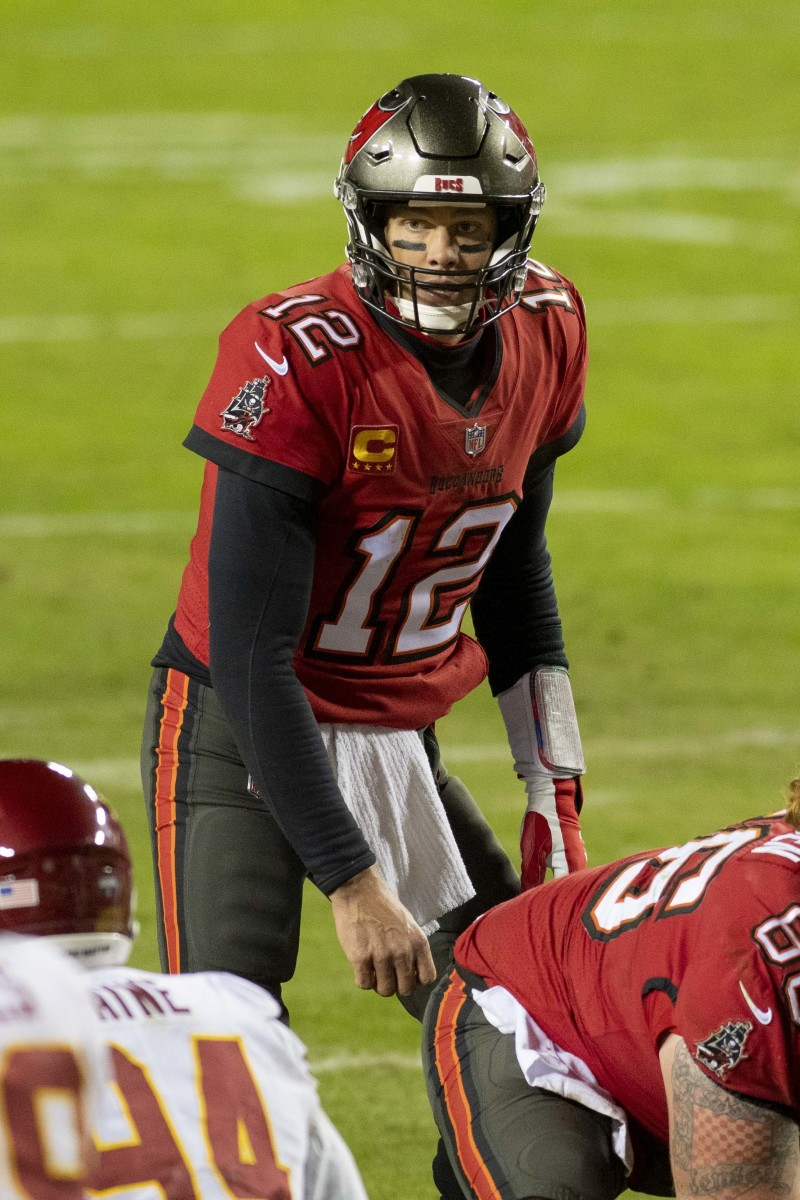 Tom Brady led the Buccaneers to the Super Bowl in his first season in Tampa Bay.