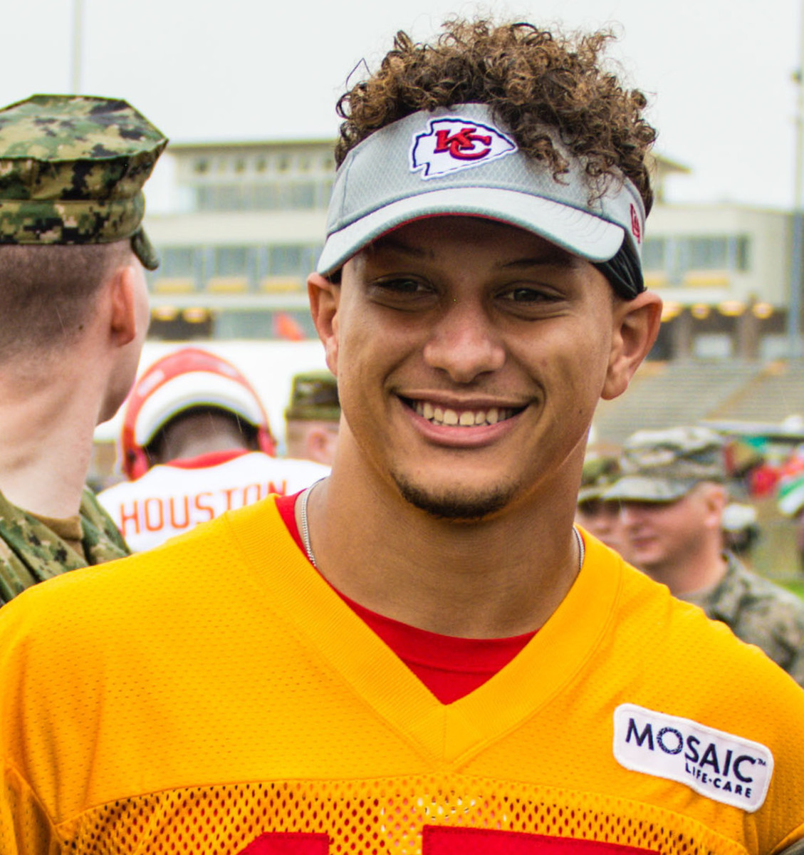 Patrick Mahomes has led two teams to a Super Bowl, but was drafted as a baseball player in 2014.