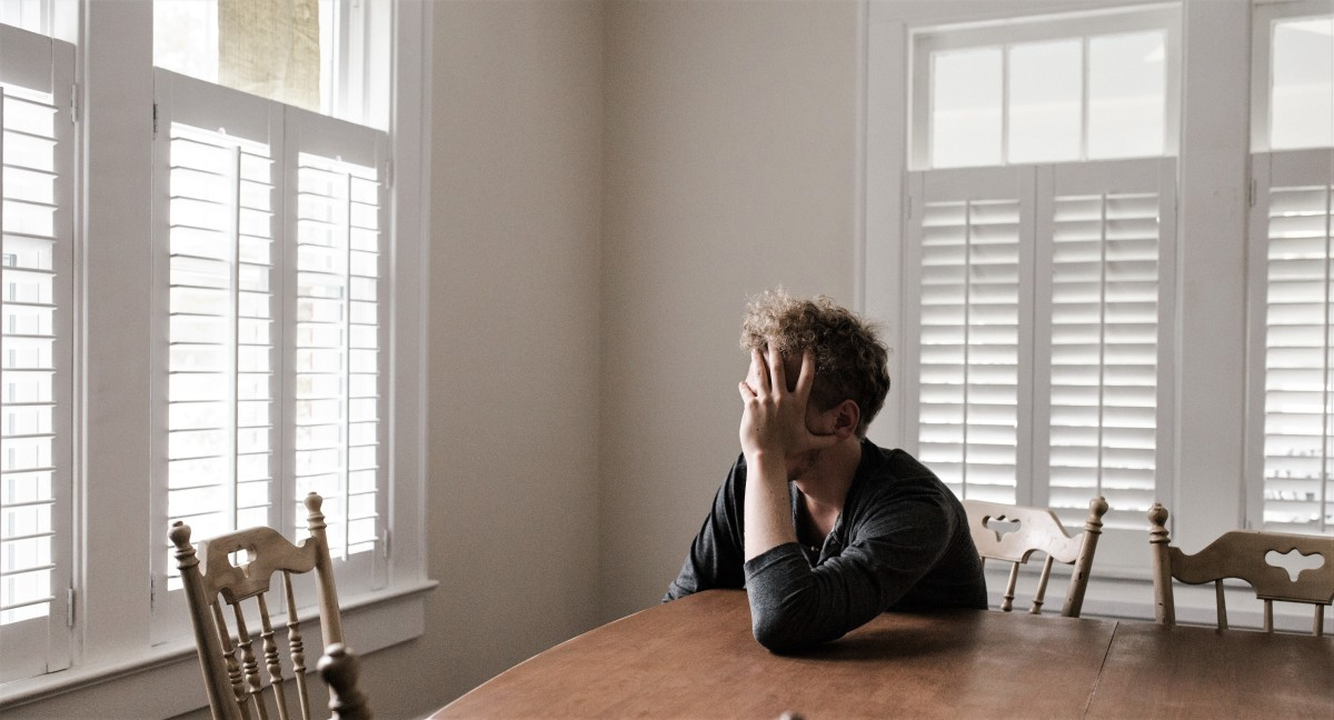 Depression increases the cortisol levels in the body and the brain.