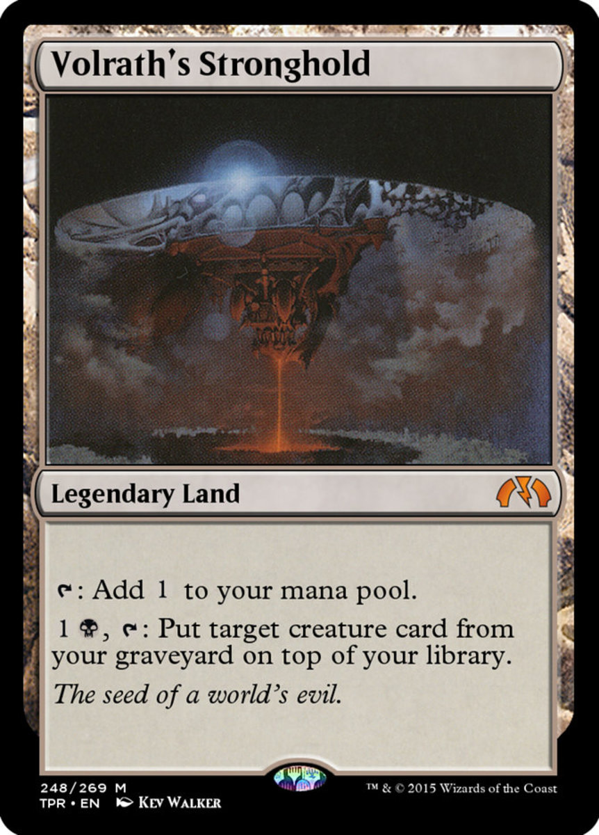 Volrath's Stronghold mtg