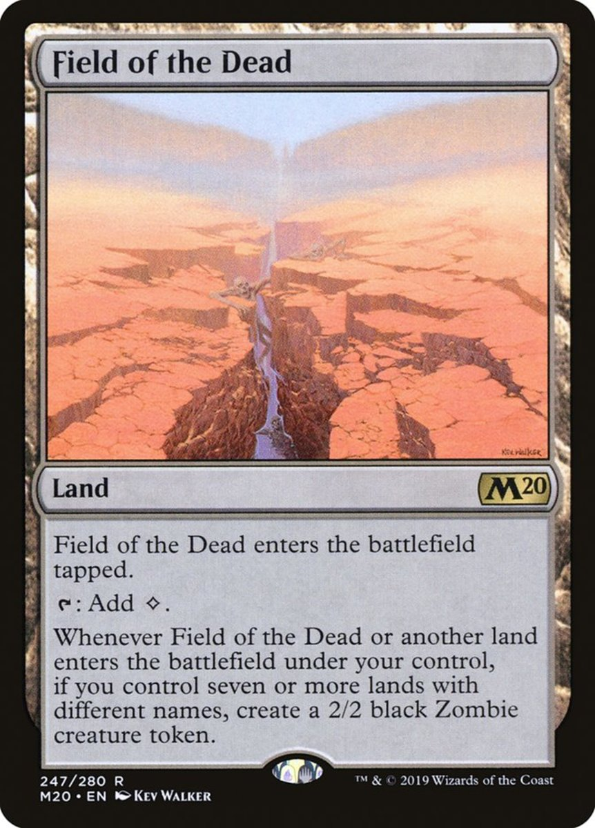 Field of the Dead mtg
