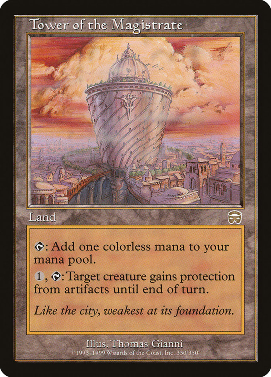 Tower of the Magistrate mtg