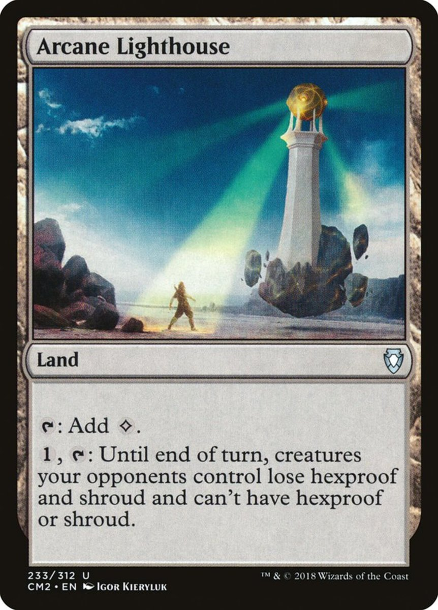 Arcane Lighthouse mtg