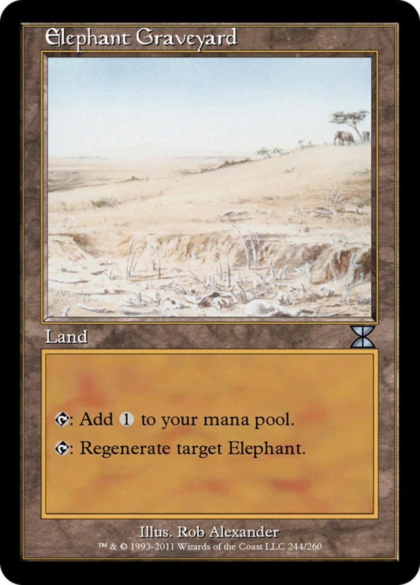 Elephant Graveyard mtg
