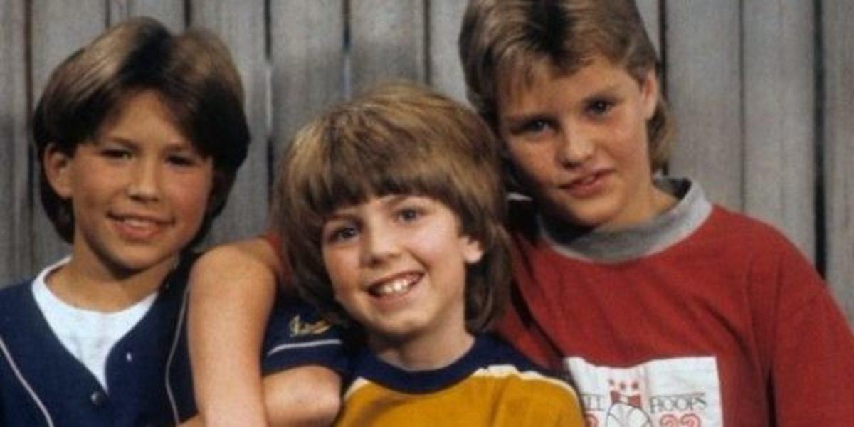 From left to right, Randy: Jonathan Taylor Thomas, Mark: Taran Noah Smith, Brad: Zachery Ty Bryan