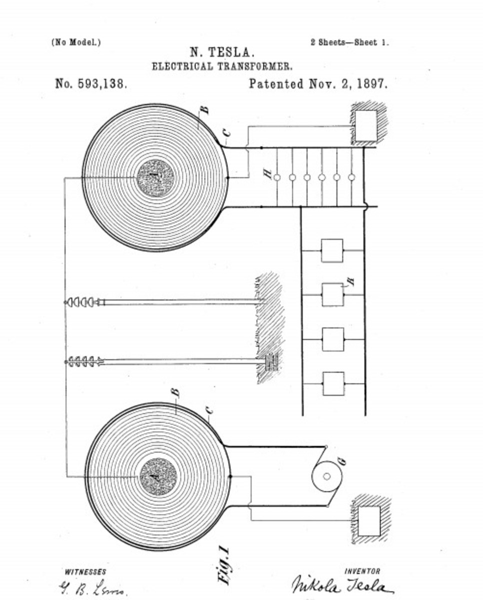 Tesla demonstrated the reality of transmitting power wirelessly, making the possibility of remote fueling possible. His concepts were based on resonance.