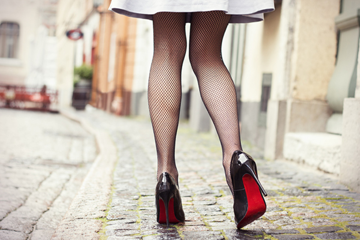Create a whole new look with fishnets