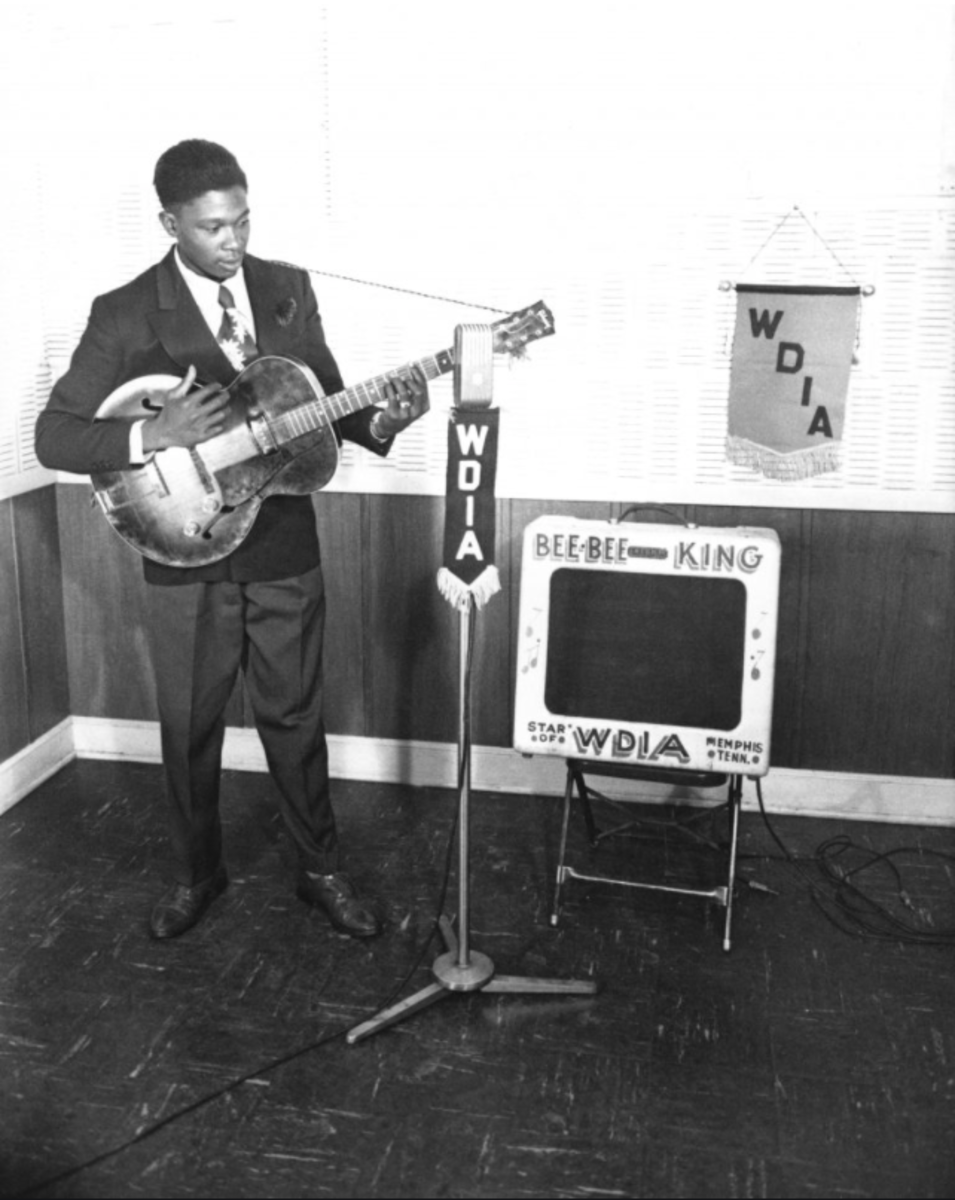 In early 1949 B.B. King was a young, beginning entertainer with a 15-minute show on WDIA.