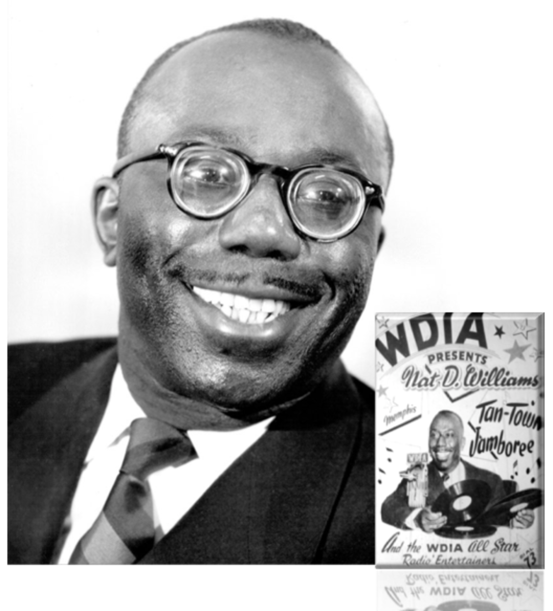 The Tan Town Jamboree program hosted by Nat D. Williams propelled WDIA to the second most popular radio station in Memphis.  Shortly after, WDIA became the city's number one station.