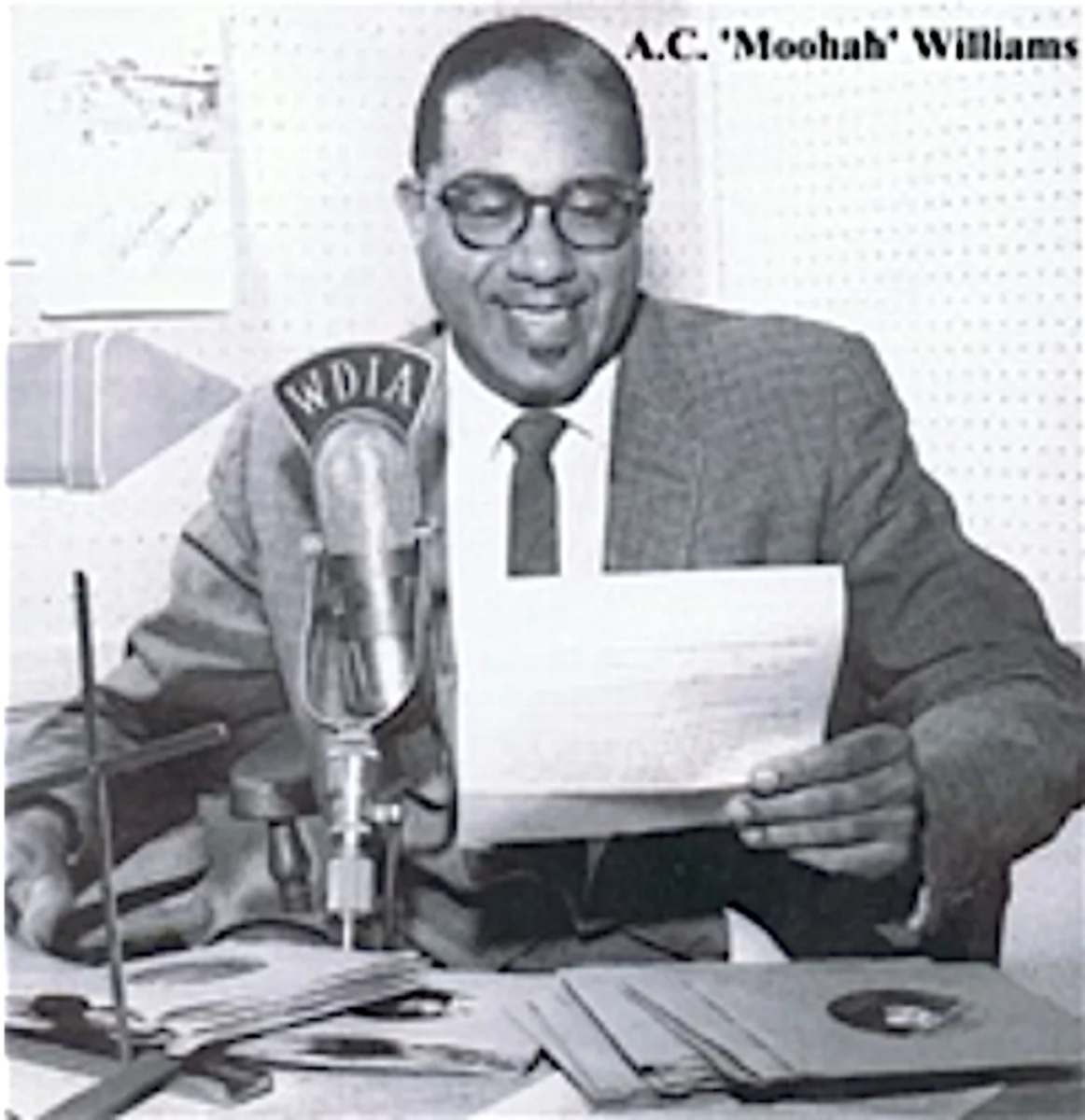 """A Goodwill Fund was created in 1954 by disc jockey A.C. Williams. Often the tagline """"50,000 Watts of Goodwill, W-D-I-A Memphis"""" would resound through the city's radio speakers."""
