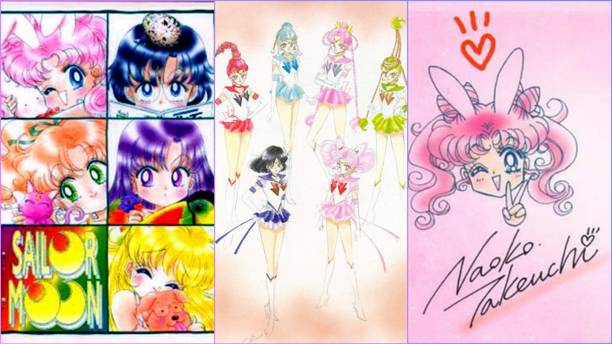 The new generation of Sailor Guardians in their official, full color forms.