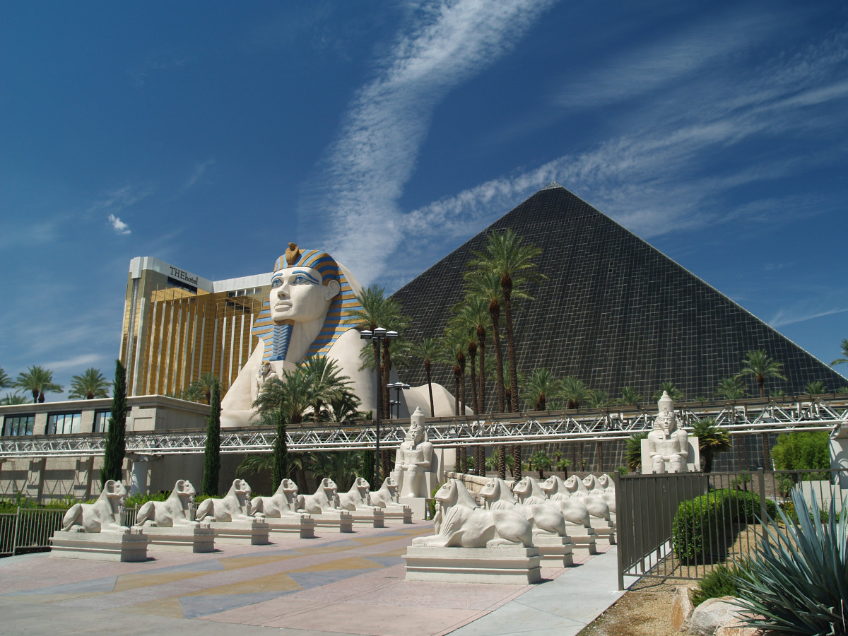 A View of the Luxor