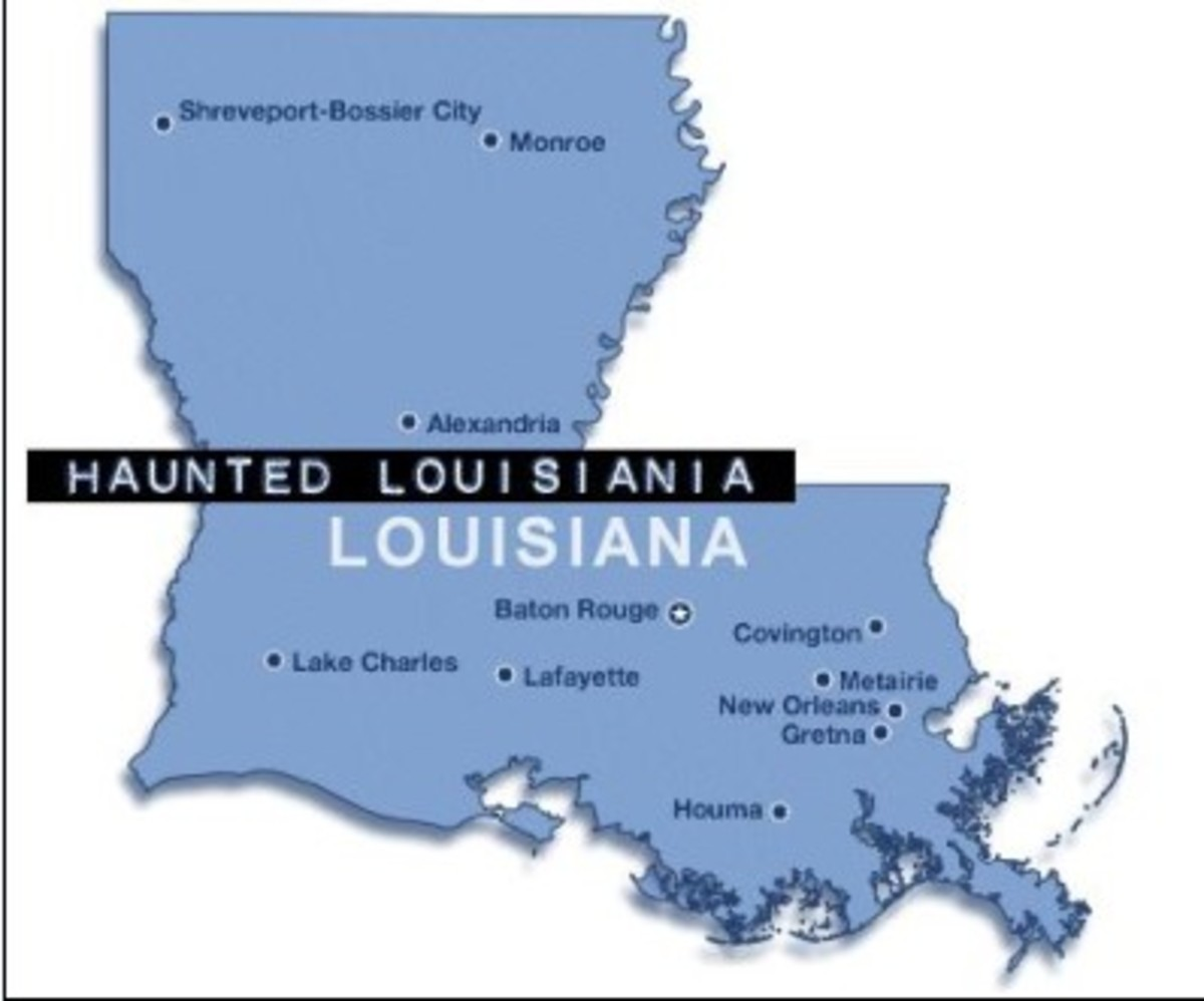 Haunted Louisiana