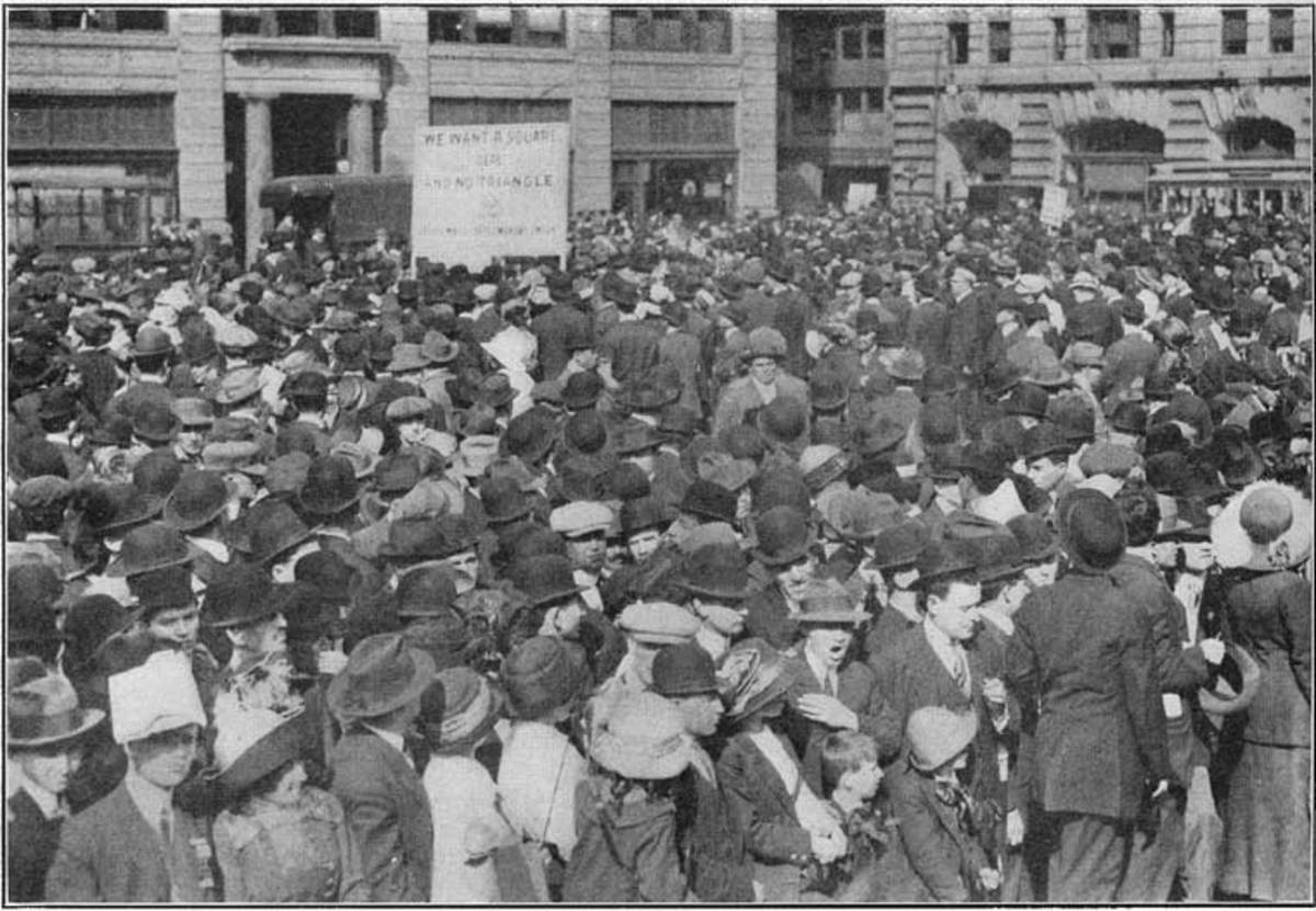 The Paterson, NJ silk weavers' strike