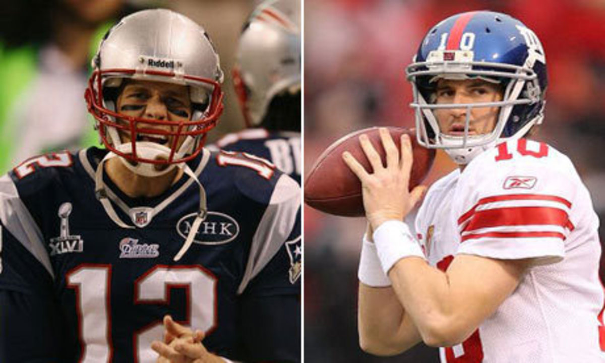 Patriots and Giants was one of the competitive rivalries back in the day.