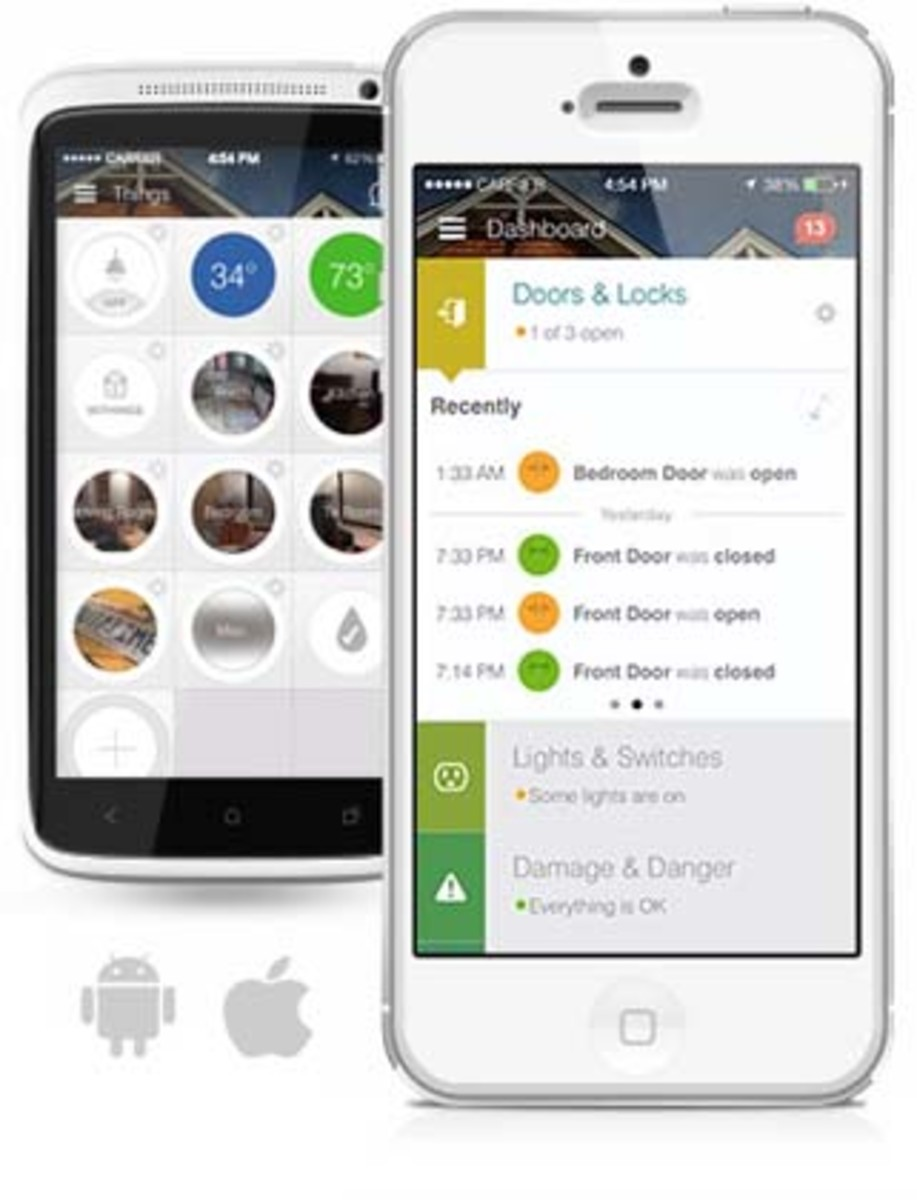 The SmartThings App