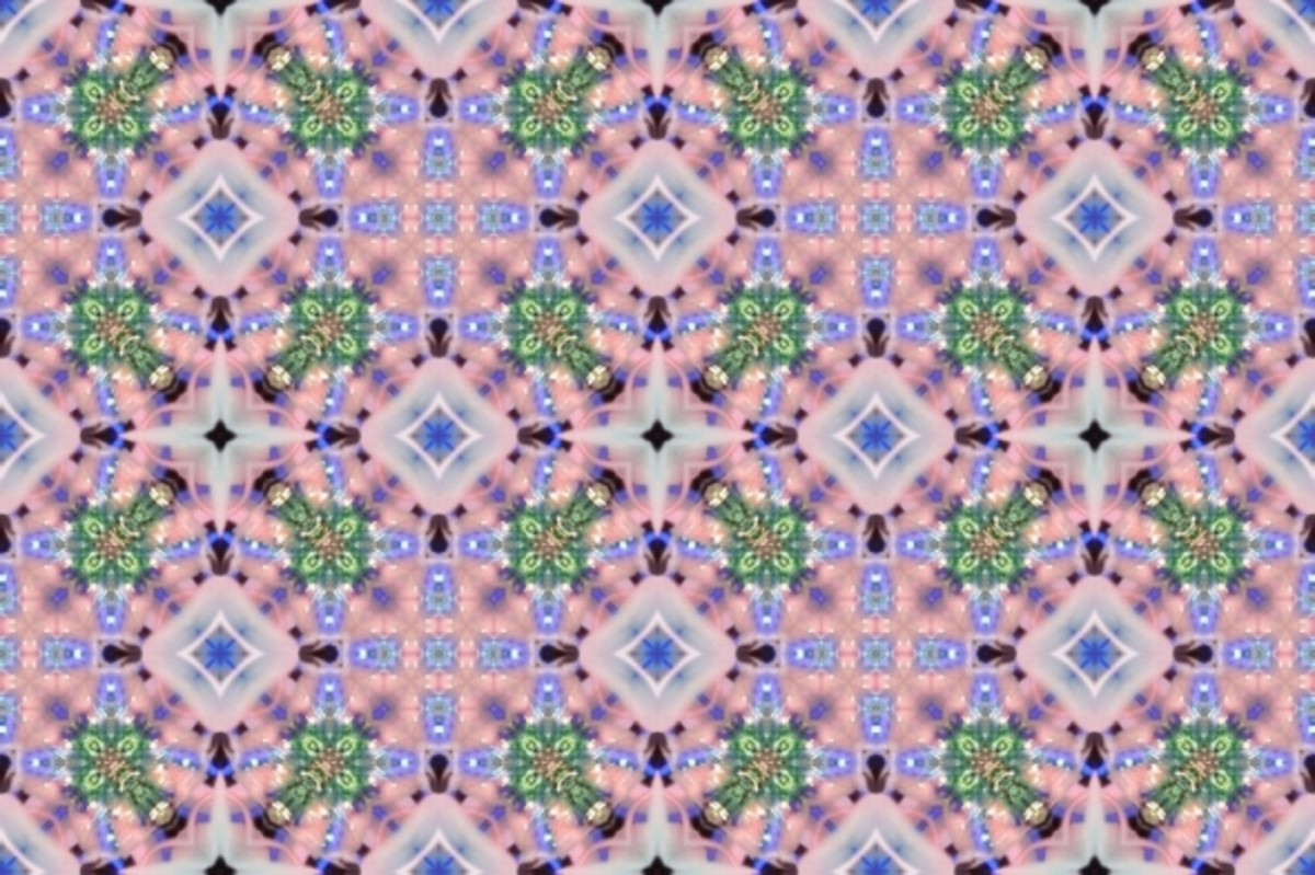 Seamless tile from the main image. If you use this one for a background or wallpaper, it's best to use text boxes due to the busyness of the images.