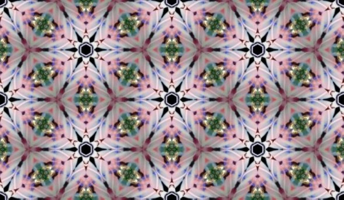 Another seamless tile from the main image, but this one using a 12 point burst design.