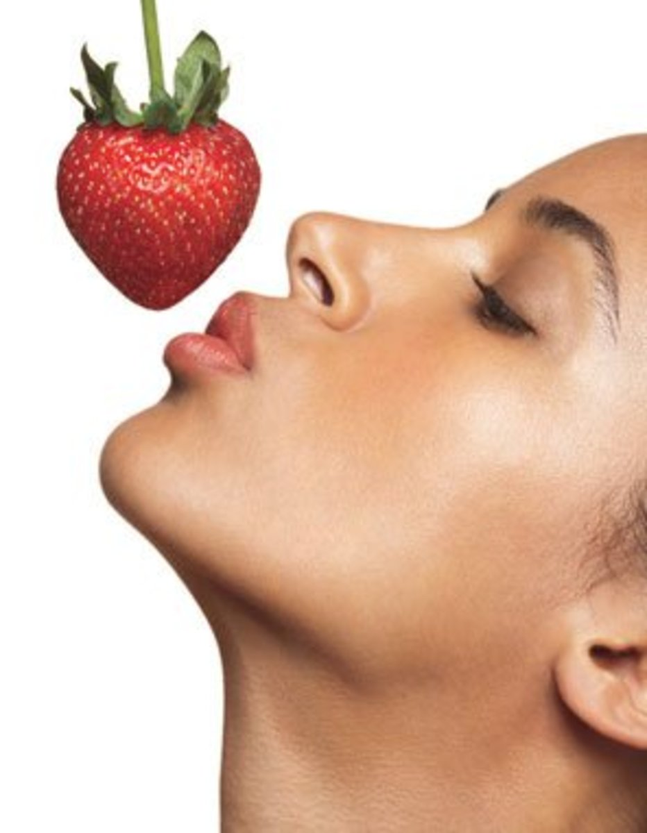 Say goodbye to Acne with Strawberries
