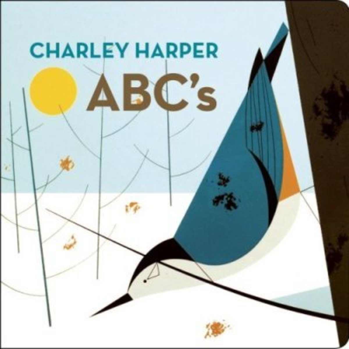 Charlie Harper's ABCs is a wonder children's board  book by the late artist Charlie Harper, who worked in Ohio and had a background in commercial graphic art.