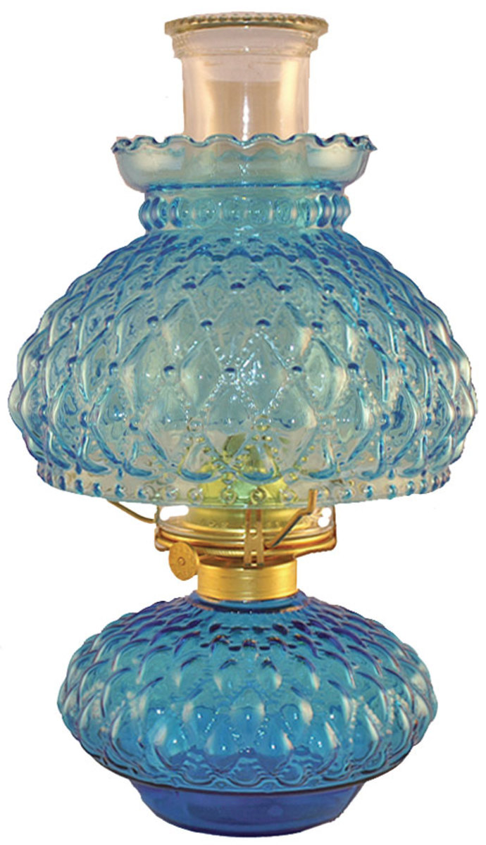 Oil lamps are still used as decorator and for off grid lighting.
